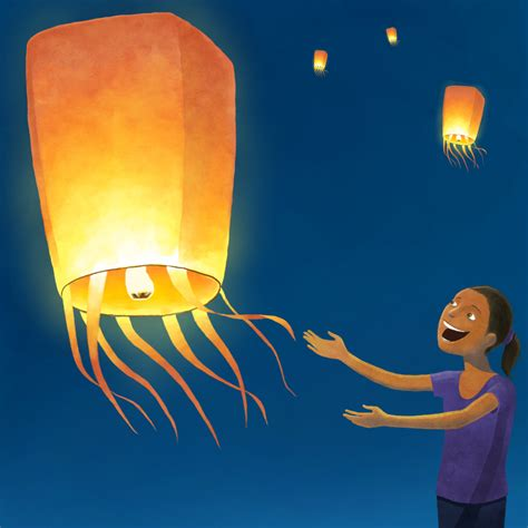 How To Make A Paper Sky Lantern - image gallery flying paper lanterns