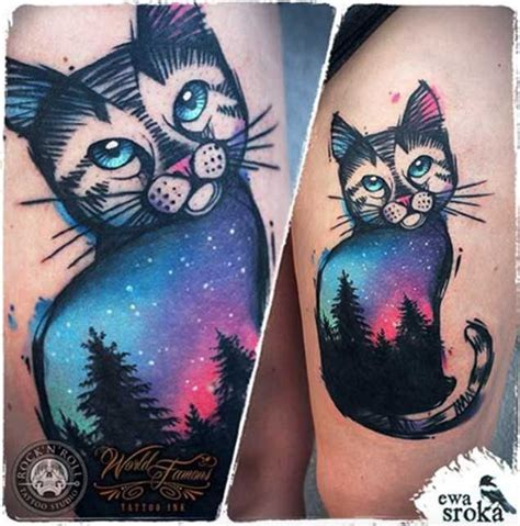 cat ufo tattoo 99 best space ink images on pinterest tattoo ideas