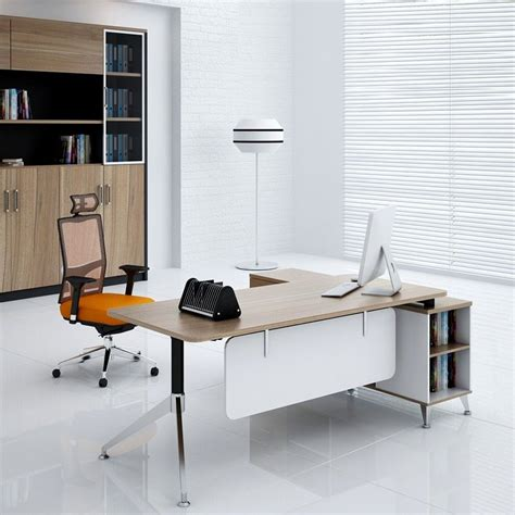 simple office furniture   china melamine board modern design  type office table buy