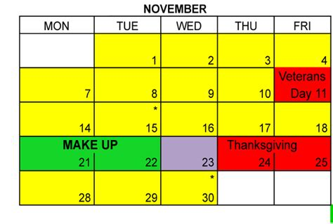 discovery elementary school calendars issaquah wa