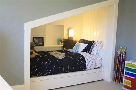 Fun Bedroom Decorating Ideas Built In Bed Nook