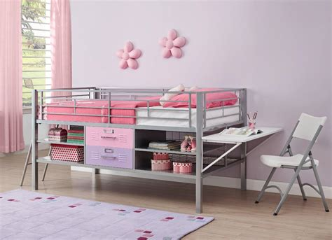 Kid Loft Bed With Desk Loft Beds For With Desk For A Price You Can Afford Loftbeddeals