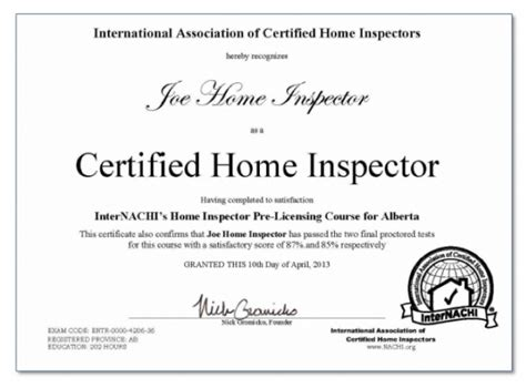 how to become a certified home inspector 28 images how