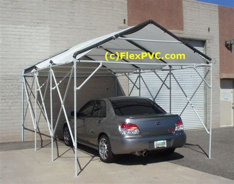 how to make a cer awning 1 flexpvc 174 com projects structures canopies ladders
