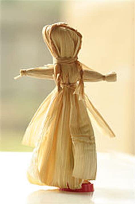 corn husk doll materials doll
