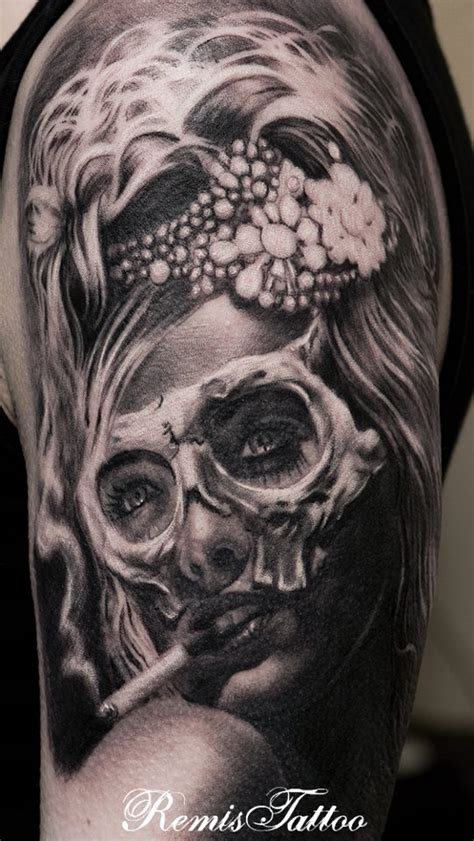 small day of the dead tattoos 44 day of the dead tattoos gallery