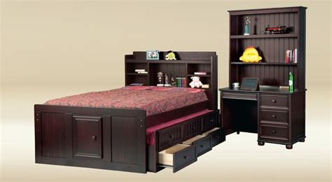 full size kid bed full size kids captain bed with bookcase headborad