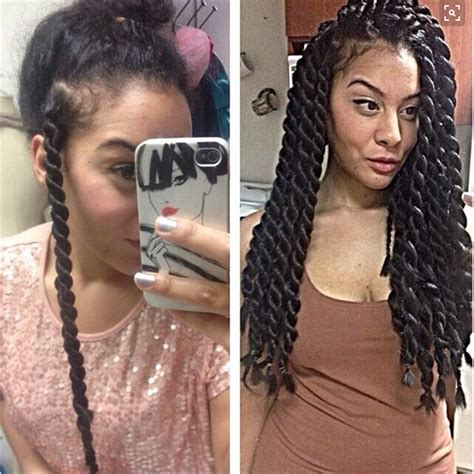 seneglese with corn rolls jumbo senegalese twist google search hair envy