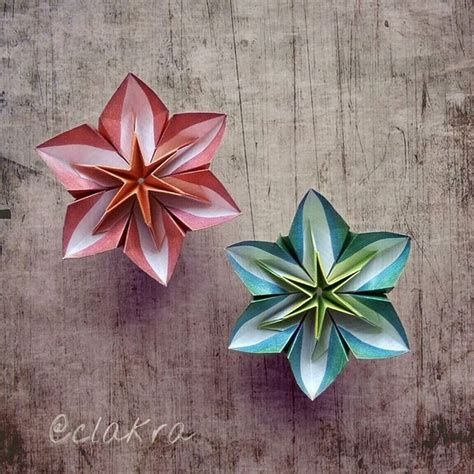 Origami Modular Flower - 1000 ideas about origami flowers on origami