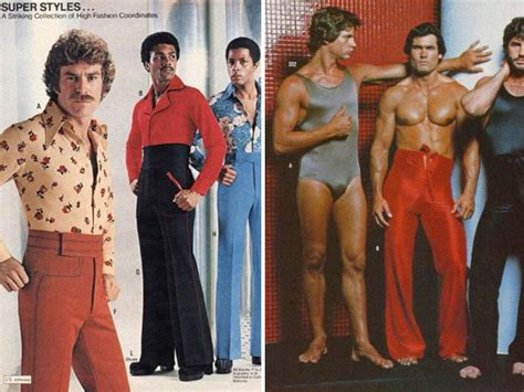 seventies men s fashion advertisements you won t be in a