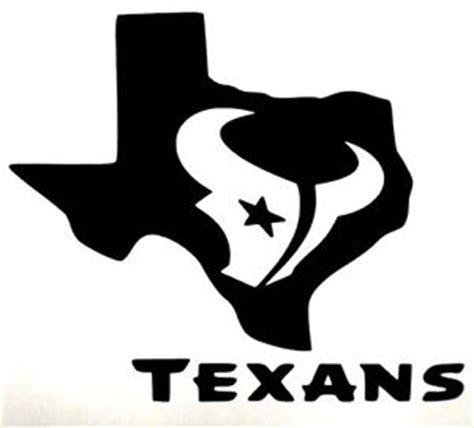 houston texans bull logo football car truck vinyl