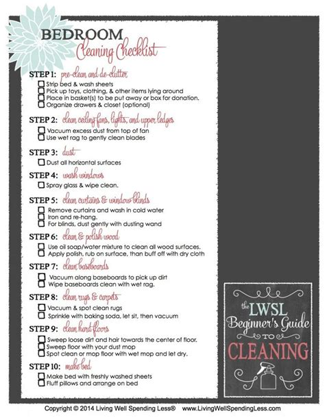 how to deep clean a bedroom best 25 room cleaning checklist ideas on pinterest chore list for kids household