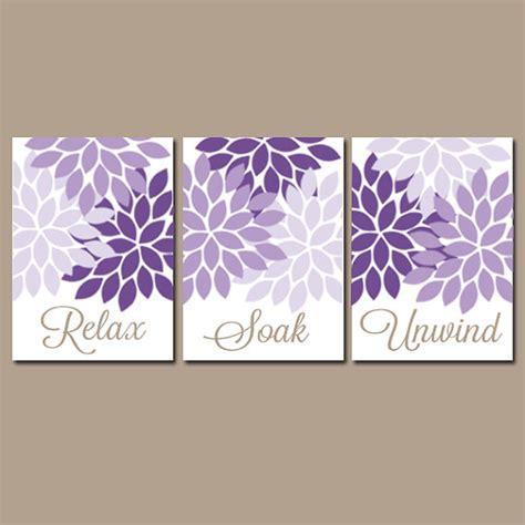 bathroom decor wall art canvas prints purple lavender deco bathrooms home design ideas pictures remodel and