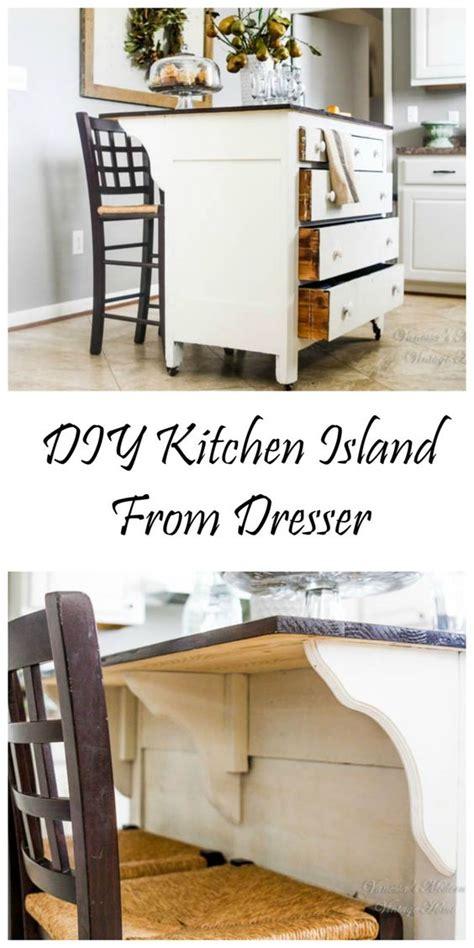 Kitchen Island Out Of Dresser by Need Kitchen Storage Make A Kitchen Island From A Dresser
