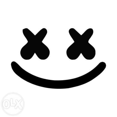 Jaket Alan Walker Black Grey Sweater Pria Wanita Grosir Murah jual stiker cutting sticker dj marsmello untuk mobil motor