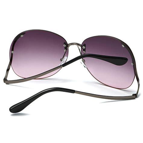Kacamata Thombrowne 6 kacamata wanita gradient anti uv brown jakartanotebook