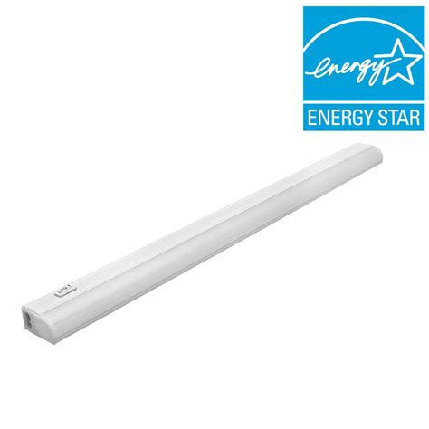 commercial electric under cabinet lighting installation commercial electric 24 in soft white led under cabinet