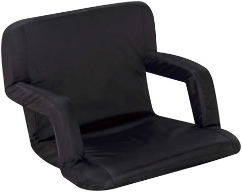 reclining bench seat naomi home naomi home venice portable reclining seat with