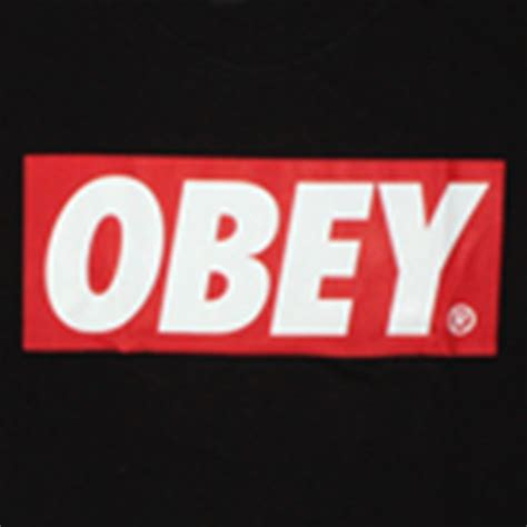 Tshirt Tshirt Obey obey basic t shirt obey bar logo black roblox