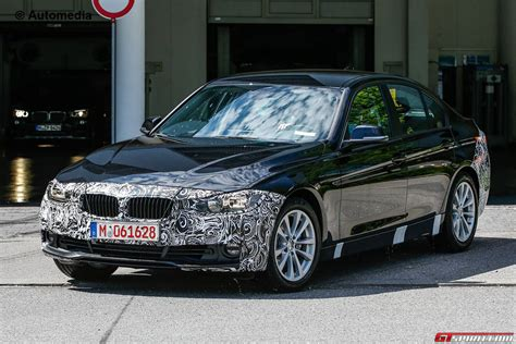 bmw 3 series facelift new bmw 3 series facelift with less camo gtspirit