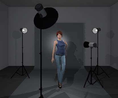 Outdoor Lighting Setup Harmonious Portrait Light With Spotlight Background Elixxier Foto