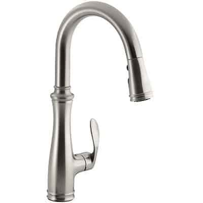kohler kitchen faucet reviews review kohler k 560 vs bellera kitchen faucet finest