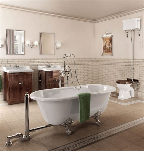 klassische badezimmer burlington classic bathroom suite