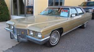 1972 Cadillac Fleetwood For Sale 1972 Cadillac Fleetwood Brougham Last Of The Extended