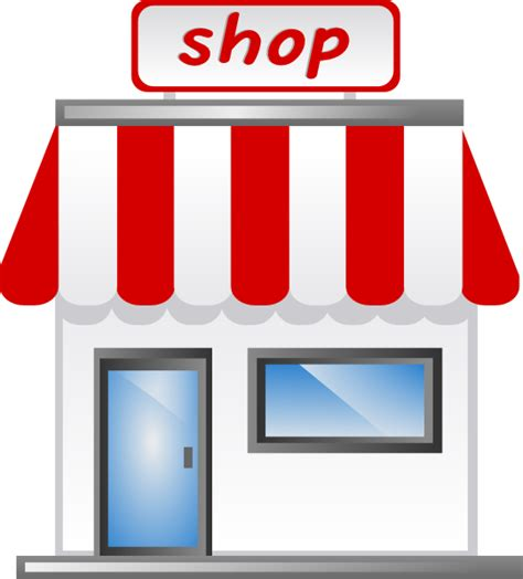 werkstatt piktogramm shop front icon clip at clker vector clip