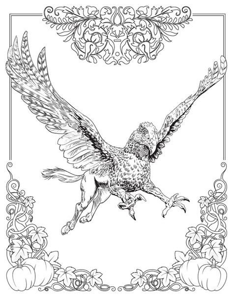 harry potter magical creatures coloring book pdf colouring book wizards can now get their wands on a