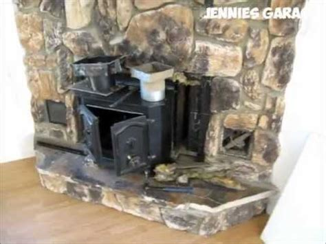 how to take out a fireplace install wood pellet stove