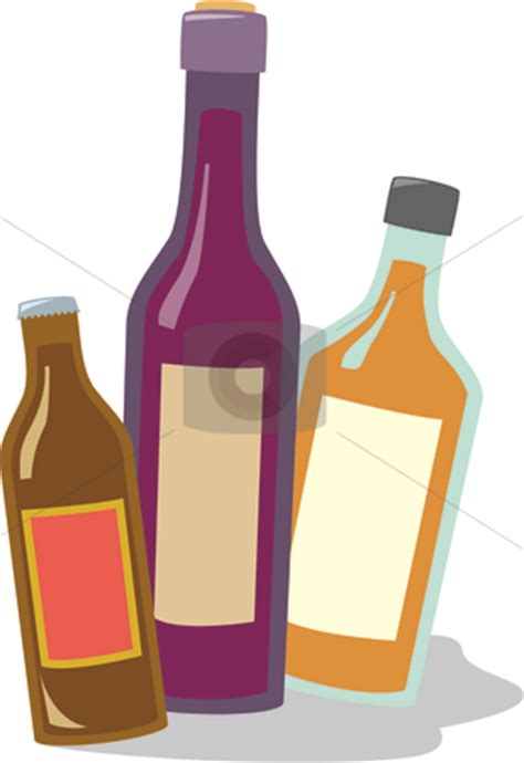 cartoon alcohol bottle liqueur clipart clipground