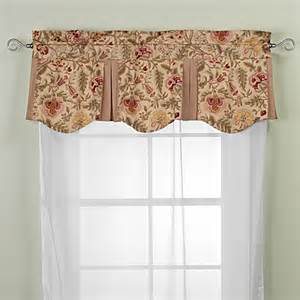dress curtains buy imperial dress antique valance from bed bath beyond