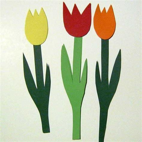 Pflanzen Ohne Blüten by Tulpen Basteln Aus Papier Raum Und M 246 Beldesign Inspiration