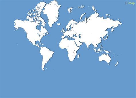 world map simple vector cartes monde