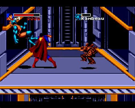 sega genesis superman and return of superman sega genesis 1 9