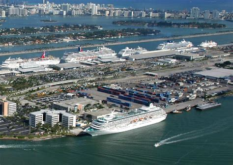 Car Rentals In Miami Port For Cruises by Miami The Cruise Capital Of The World
