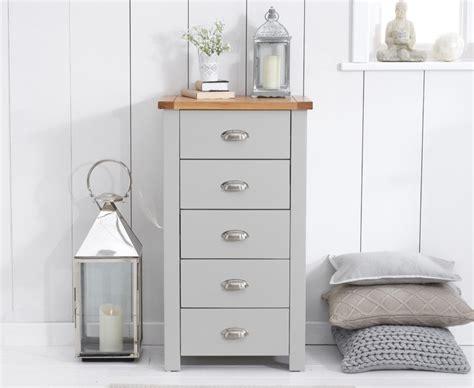 bedroom ranges uk buy the somerset oak and grey 5 drawer chest at oak