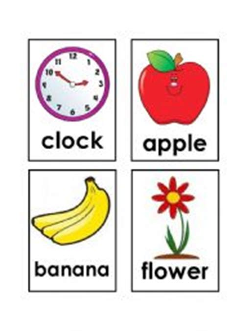 printable first words flashcards for toddlers english teaching worksheets flashcards