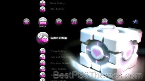 ps4 themes portal portal best ps3 themes