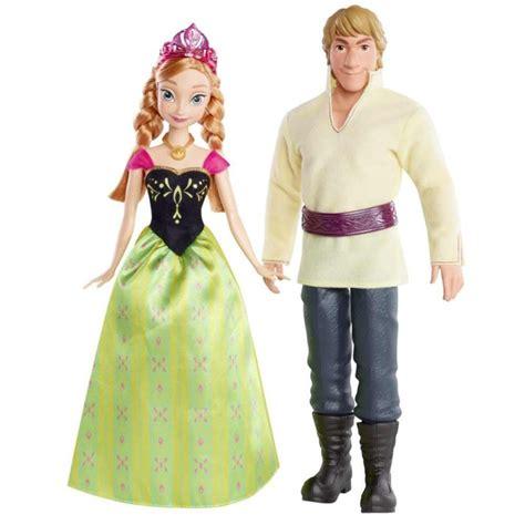 film barbie neige kraina lodu frozen anna i krzysztof lalka 30 cm bdk35