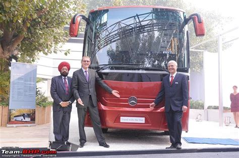 mercedes benz buses  part  daimler india commercial vehicles team bhp