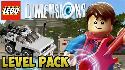 Lego 71201 Dimensions Level Pack Back To The Future lego dimensions back to the future level pack walkthrough unboxing 71201
