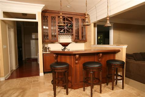 Kitchen Island Small Kitchen by Custom Home Bars Design Line Kitchens In Sea Girt Nj