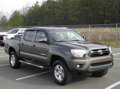 Toyota Preown Pre Owned 2013 Toyota Tacoma Prerunner Crew Cab In