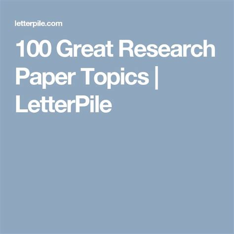 Easy Research Paper Topics by Best 25 Research Paper Ideas On Write My Research Paper Paper Outline And High
