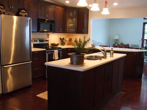 open kitchen design with living room the advantages of american kitchens or kitchenettes