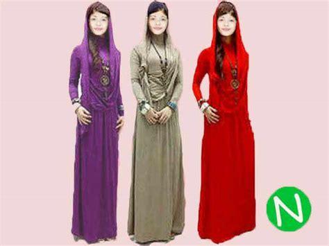 Gamis Maxy busana muslim maxy dress gamis aisyah spandek murah agrs 500gr jual baju gamis terbaru