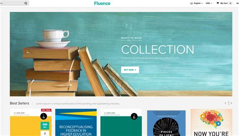 best templates for books websites the top 74 magento themes for powerful ecommerce websites
