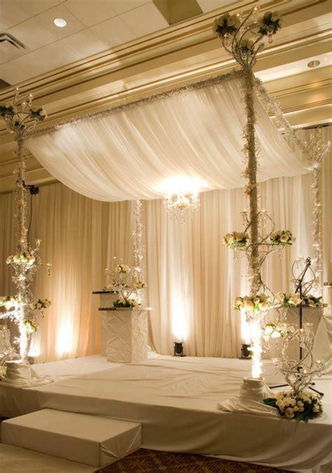chuppah draping chuppahs and mandaps portland wedding lights
